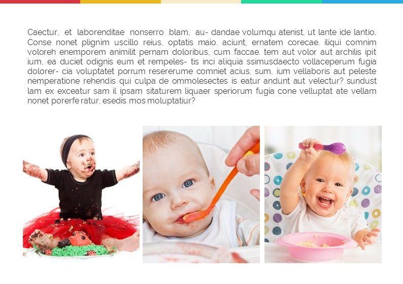 Baby Photo Album Presentation, Slide 8, 05670, Presentation Templates — PoweredTemplate.com