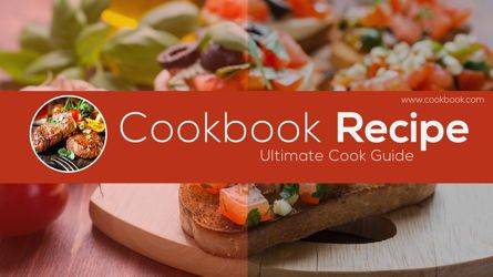 Presentation Templates: Food Recipes Catalog #05680