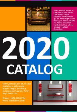 Presentation Templates: Modern Catalog Template #05686