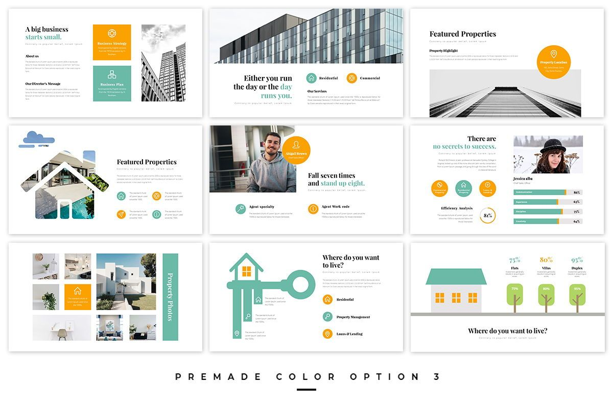 Realtors Real Estate PowerPoint Template, Slide 2, 05687, Business Models — PoweredTemplate.com