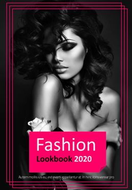 Presentation Templates: Fashion LookBook Presentation Template #05692