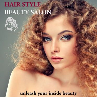 Presentation Templates: Hair Styles Beauty Salon Portfolio #05693