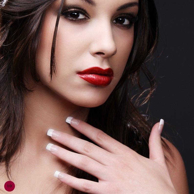 Hair Styles Beauty Salon Portfolio, Slide 10, 05693, Presentation Templates — PoweredTemplate.com