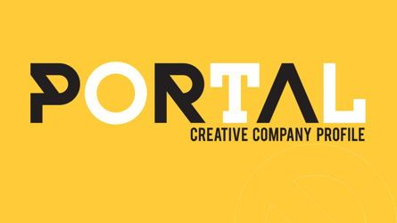 Presentation Templates: Portal Creative Company Profile Template #05696