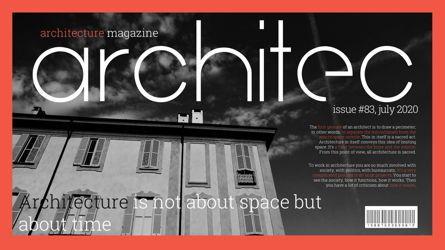 Presentation Templates: Architecture Presentation Template #05697