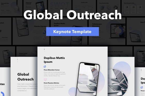 Presentation Templates: Global Outreach Keynote Template #05699