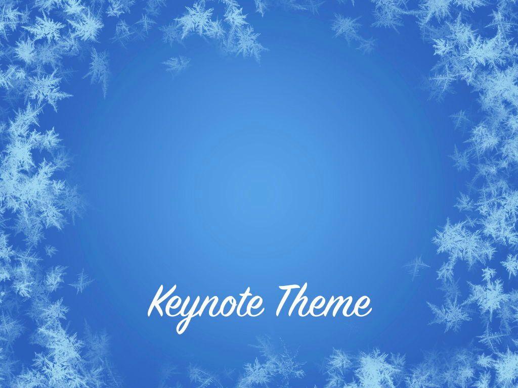 Hello Winter Keynote Template, Slide 10, 05700, Presentation Templates — PoweredTemplate.com