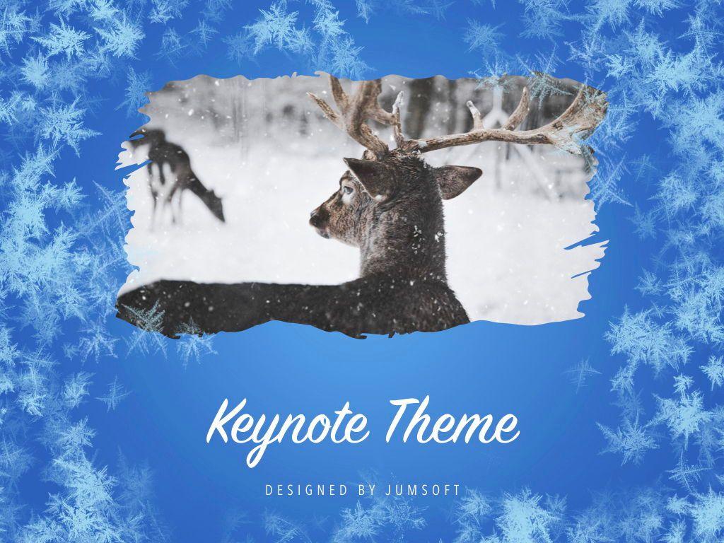Hello Winter Keynote Template, Slide 13, 05700, Presentation Templates — PoweredTemplate.com