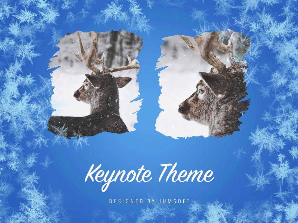 Hello Winter Keynote Template, Slide 14, 05700, Presentation Templates — PoweredTemplate.com