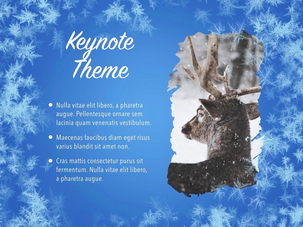 Hello Winter Keynote Template, Slide 17, 05700, Presentation Templates — PoweredTemplate.com