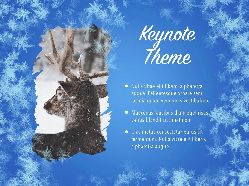 Hello Winter Keynote Template, Slide 18, 05700, Presentation Templates — PoweredTemplate.com