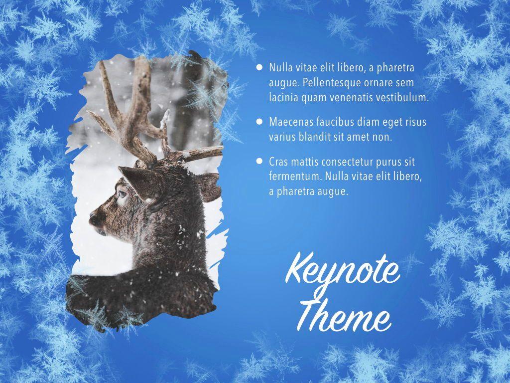 Hello Winter Keynote Template, Slide 20, 05700, Presentation Templates — PoweredTemplate.com