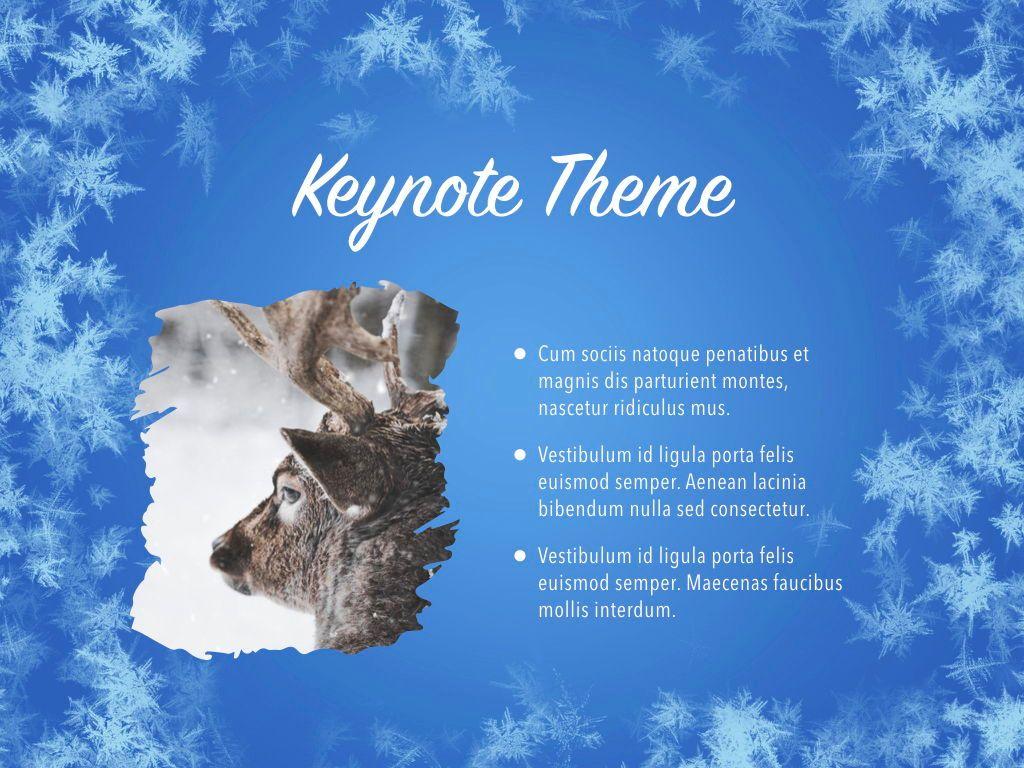 Hello Winter Keynote Template, Slide 31, 05700, Presentation Templates — PoweredTemplate.com