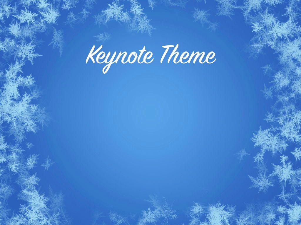 Hello Winter Keynote Template, Slide 8, 05700, Presentation Templates — PoweredTemplate.com