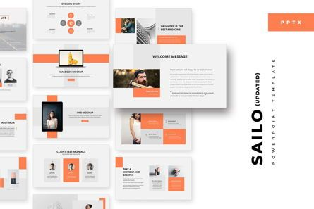 Business Models: Sailo PowerPoint Template #05706