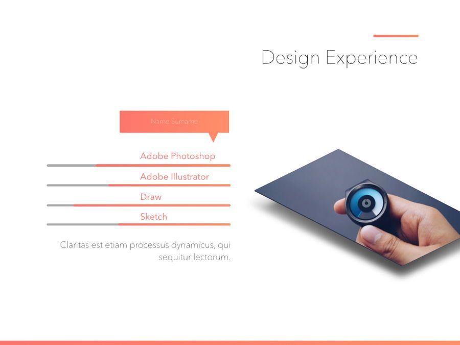 Minimal Gradient PowerPoint Template, Slide 14, 05708, Presentation Templates — PoweredTemplate.com