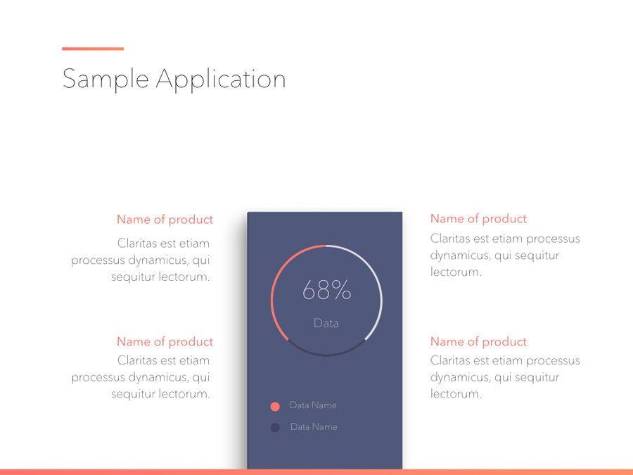 Minimal Gradient PowerPoint Template, Slide 15, 05708, Presentation Templates — PoweredTemplate.com