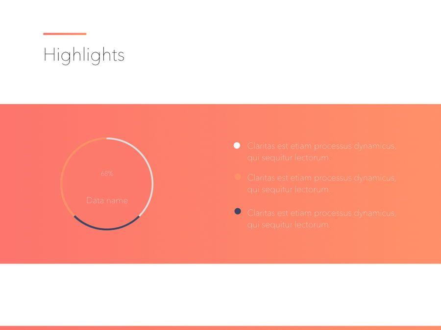 Minimal Gradient PowerPoint Template, Slide 16, 05708, Presentation Templates — PoweredTemplate.com