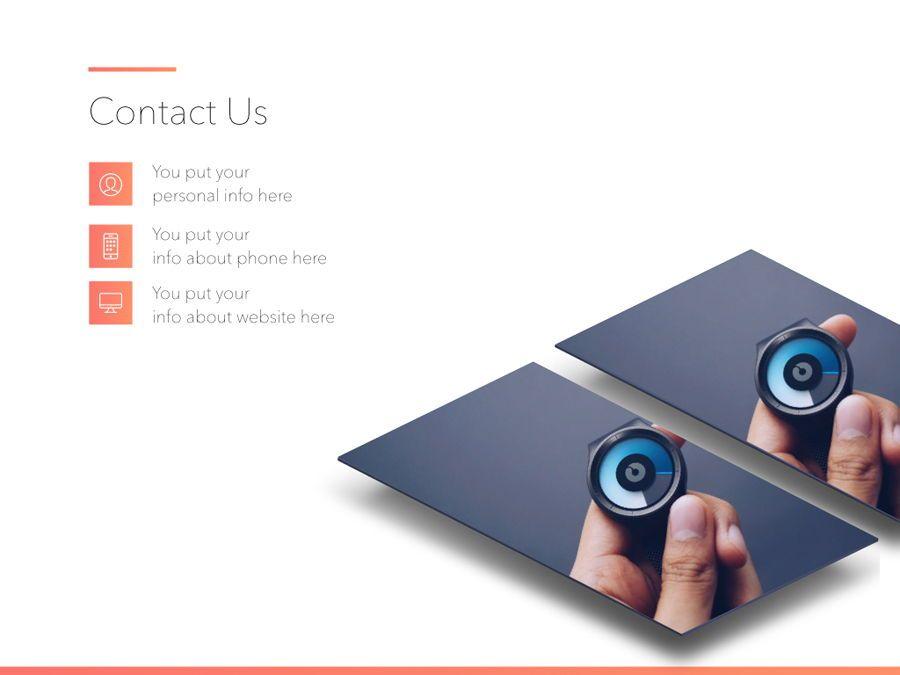 Minimal Gradient PowerPoint Template, Slide 20, 05708, Presentation Templates — PoweredTemplate.com