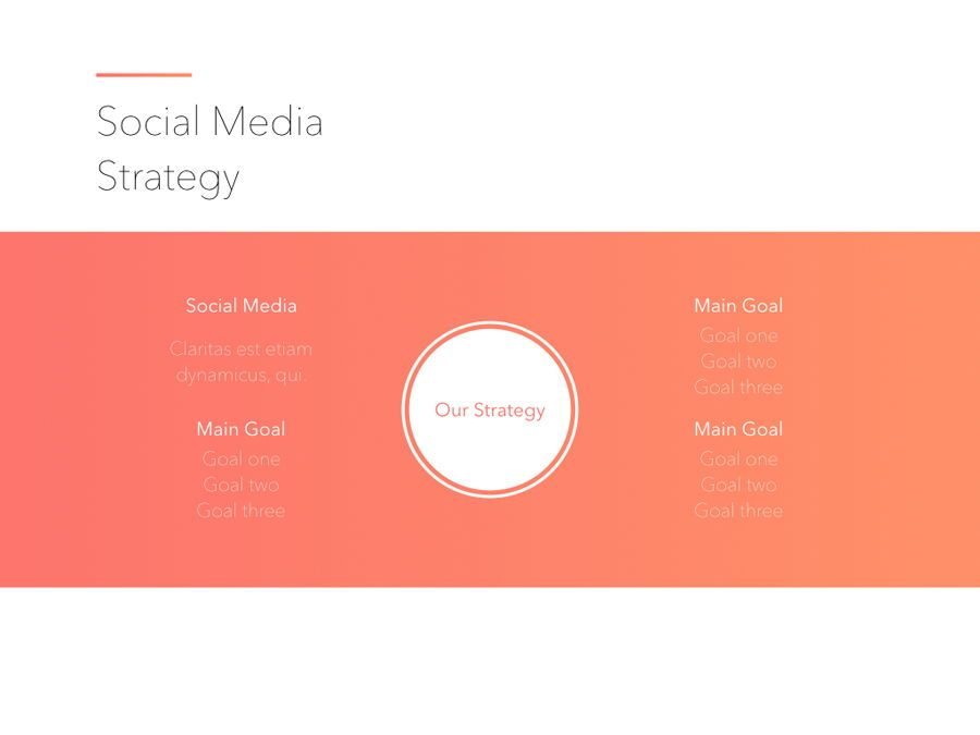 Minimal Gradient PowerPoint Template, Slide 9, 05708, Presentation Templates — PoweredTemplate.com