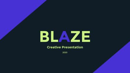 Presentation Templates: Blaze Company Presentation #05711