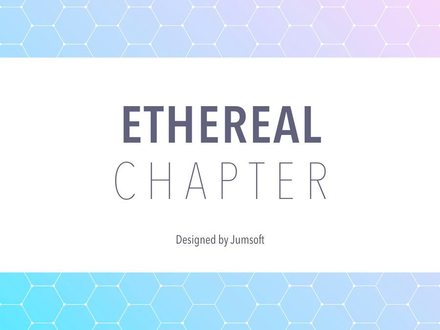 Ethereal Chapter PowerPoint Template, Slide 2, 05713, Education Charts and Diagrams — PoweredTemplate.com