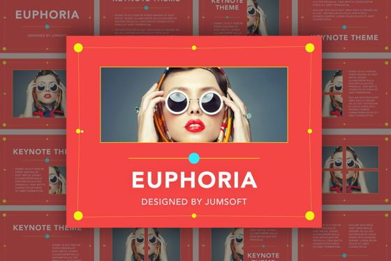 Presentation Templates: Euphoria Keynote Template #05726