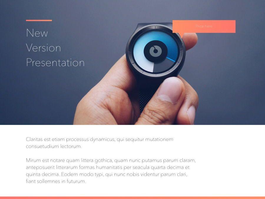 Minimal Gradient Keynote Template, Slide 10, 05748, Presentation Templates — PoweredTemplate.com