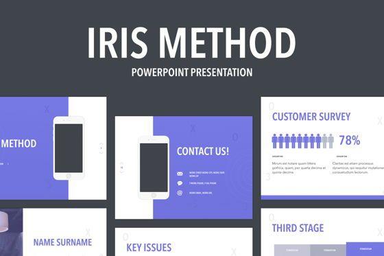Presentation Templates: Iris Method PowerPoint Template #05760
