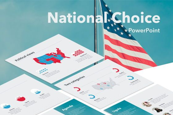 Presentation Templates: National Choice PowerPoint Template #05770