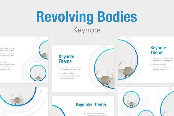 Presentation Templates: Revolving Bodies Keynote Template #05787