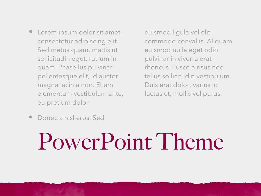 Red Wine PowerPoint Template, Slide 13, 05788, Presentation Templates — PoweredTemplate.com