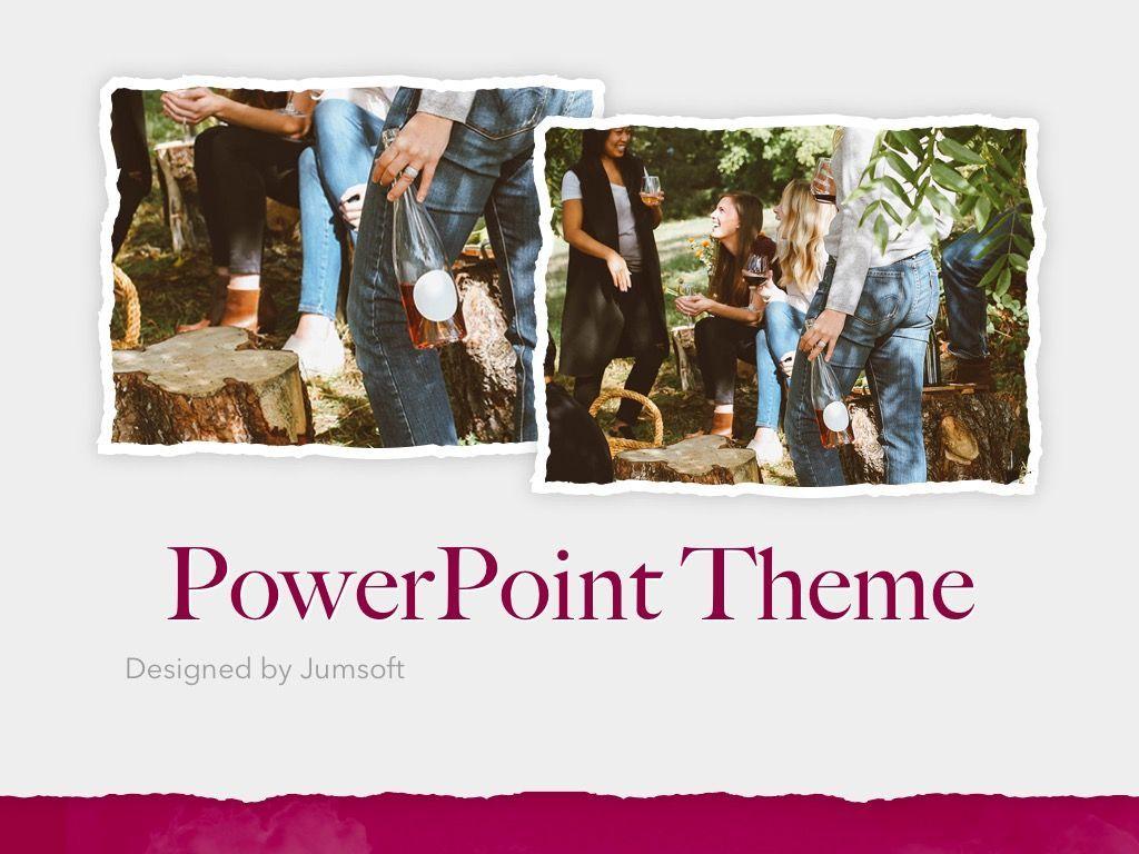 Red Wine PowerPoint Template, Slide 14, 05788, Presentation Templates — PoweredTemplate.com