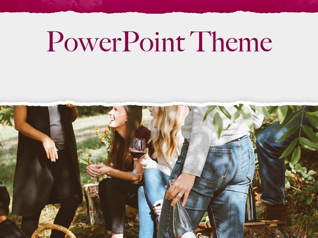 Red Wine PowerPoint Template, Slide 15, 05788, Presentation Templates — PoweredTemplate.com