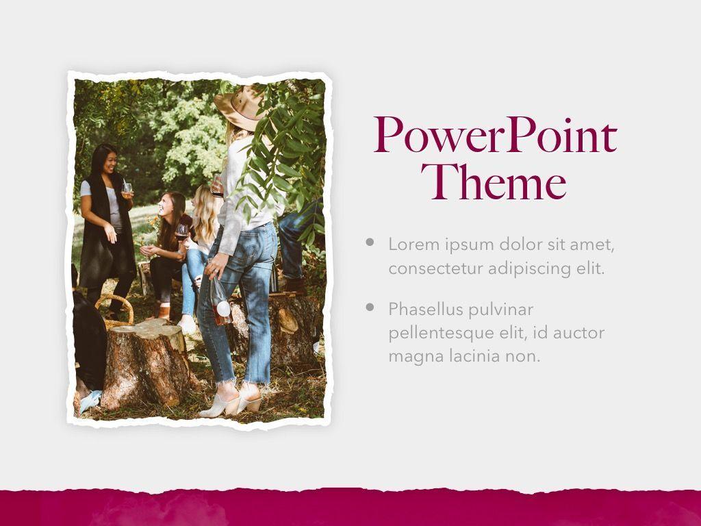 Red Wine PowerPoint Template, Slide 18, 05788, Presentation Templates — PoweredTemplate.com