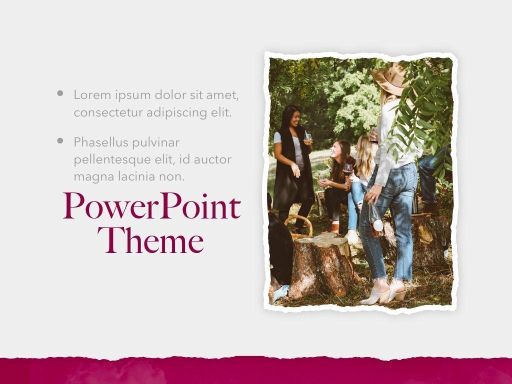 Red Wine PowerPoint Template, Slide 19, 05788, Presentation Templates — PoweredTemplate.com