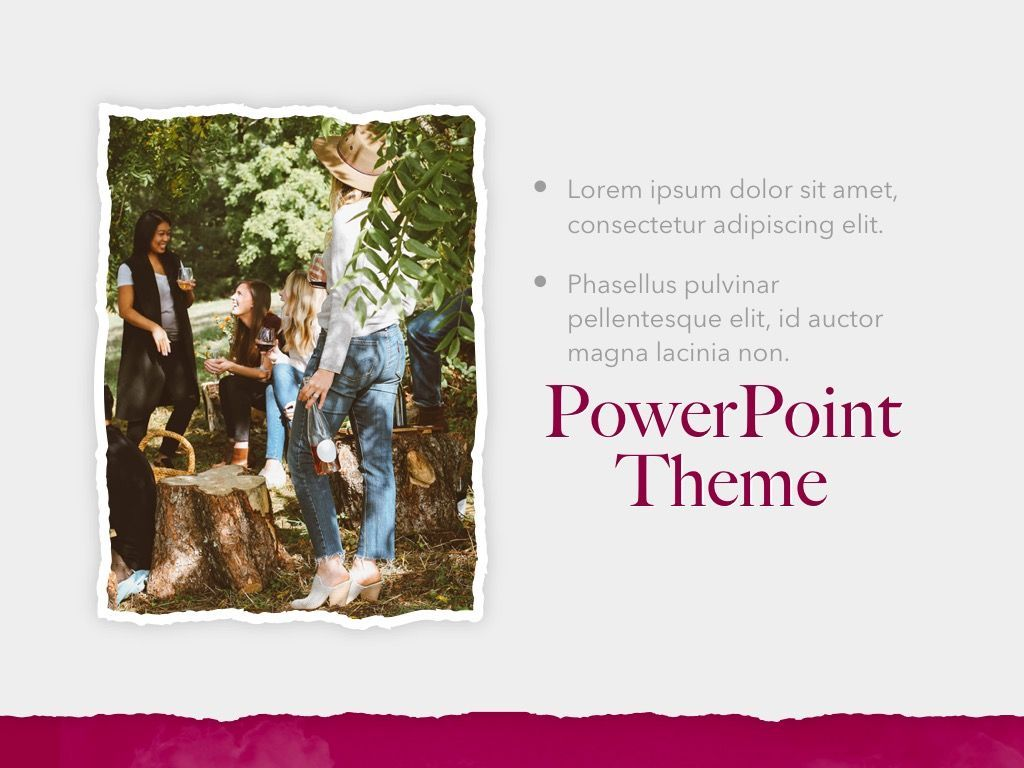 Red Wine PowerPoint Template, Slide 20, 05788, Presentation Templates — PoweredTemplate.com