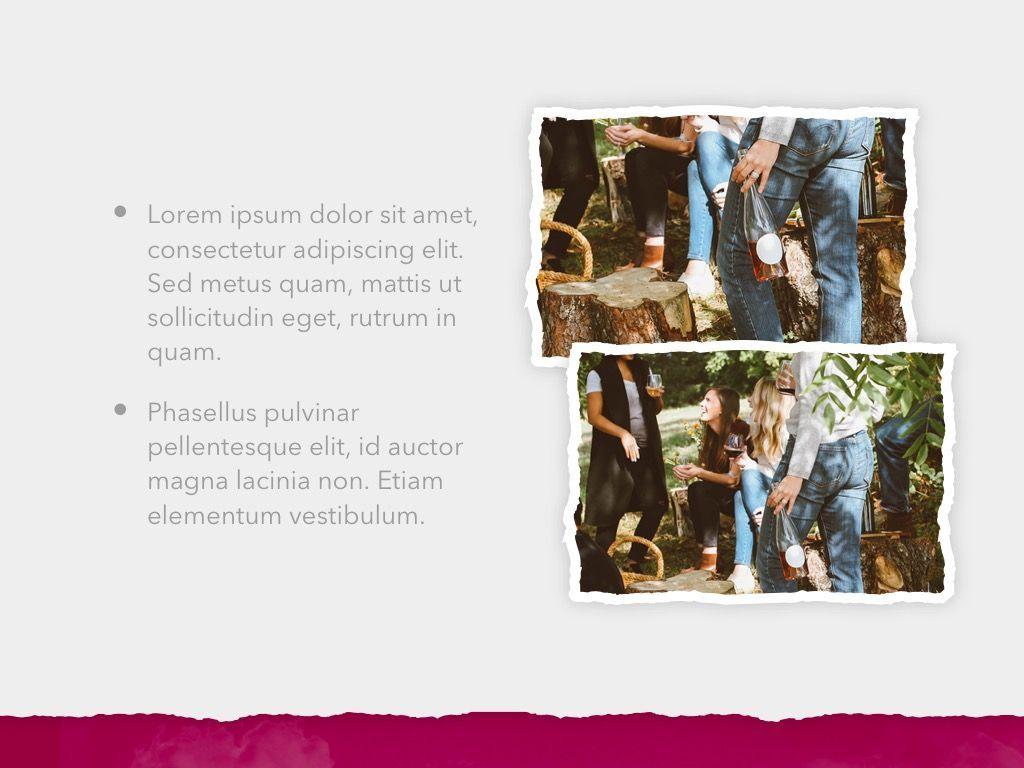 Red Wine PowerPoint Template, Slide 23, 05788, Presentation Templates — PoweredTemplate.com