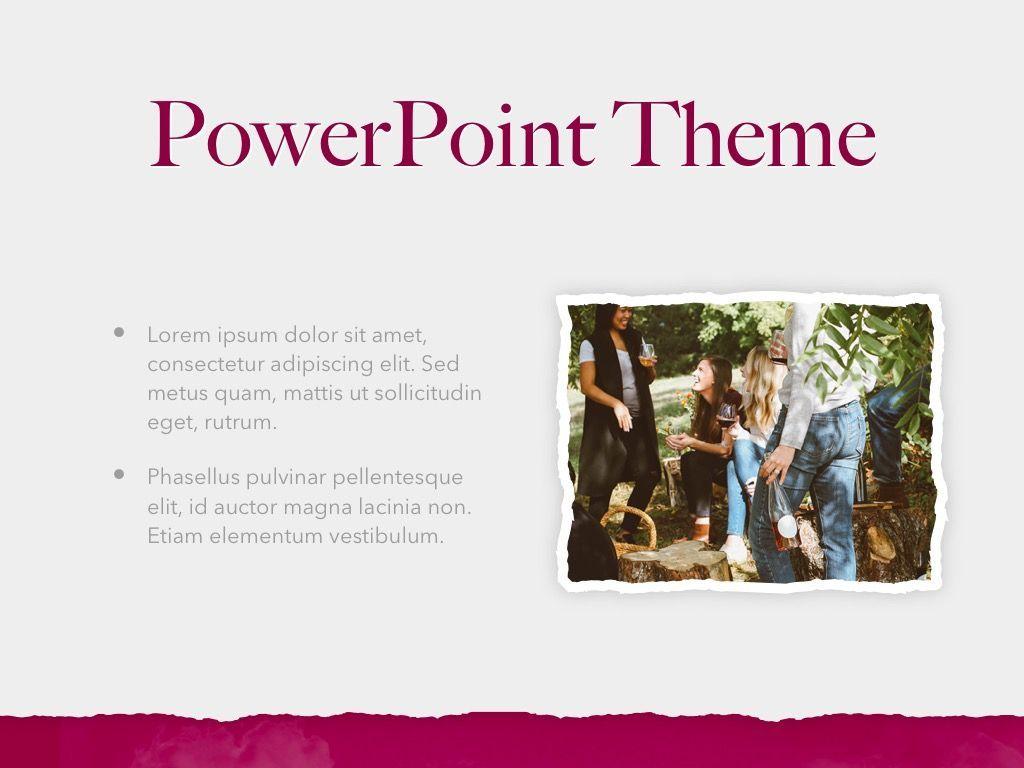 Red Wine PowerPoint Template, Slide 30, 05788, Presentation Templates — PoweredTemplate.com