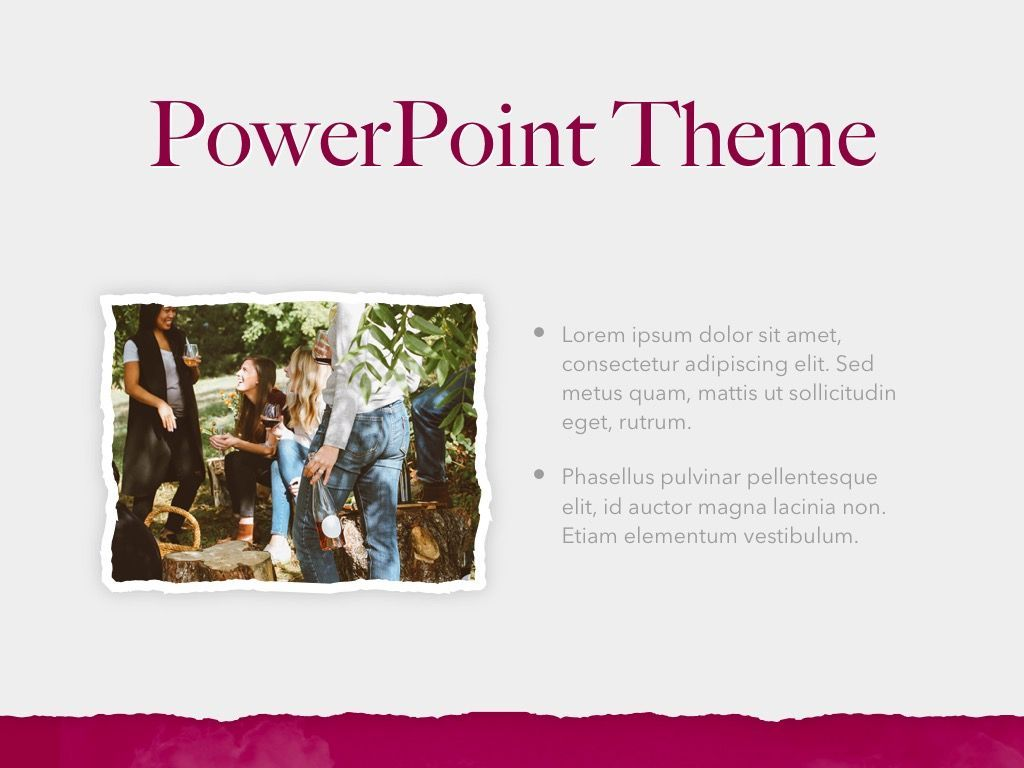 Red Wine PowerPoint Template, Slide 31, 05788, Presentation Templates — PoweredTemplate.com