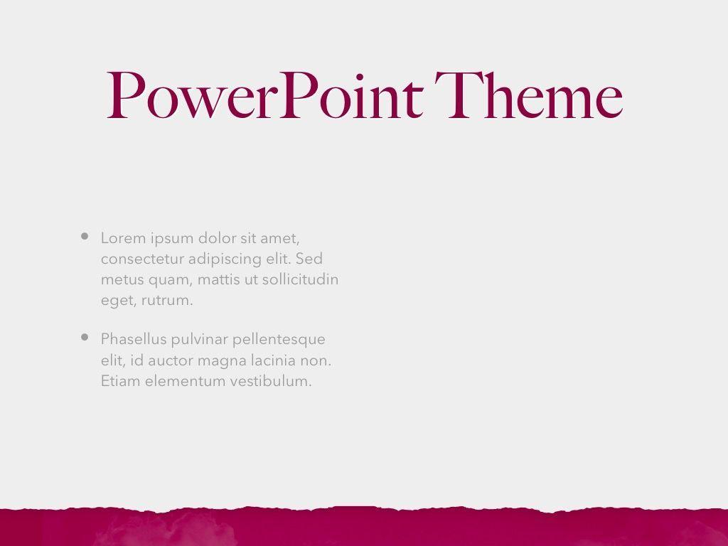 Red Wine PowerPoint Template, Slide 32, 05788, Presentation Templates — PoweredTemplate.com
