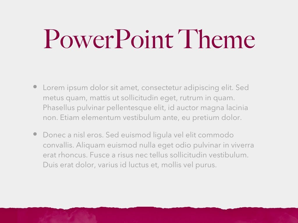 Red Wine PowerPoint Template, Slide 4, 05788, Presentation Templates — PoweredTemplate.com
