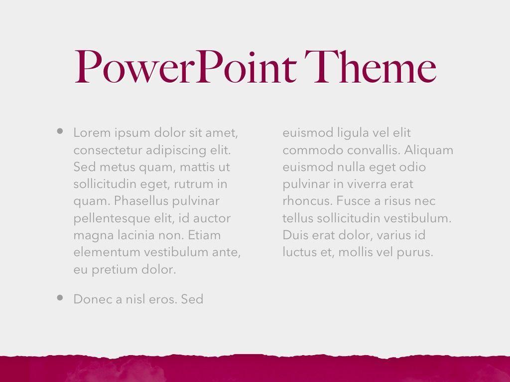 Red Wine PowerPoint Template, Slide 5, 05788, Presentation Templates — PoweredTemplate.com
