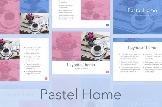 Presentation Templates: Pastel Home Keynote Template #05791