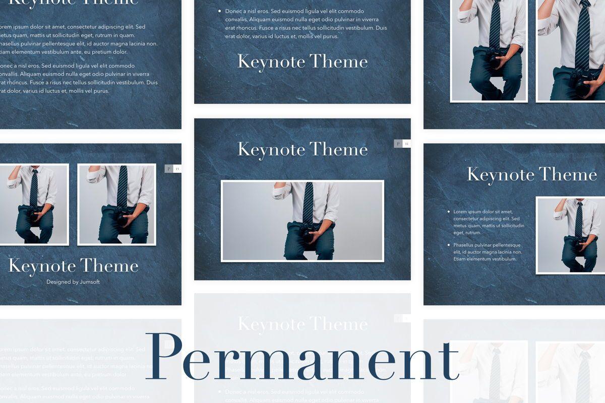 Permanent Keynote Template, 05792, Presentation Templates — PoweredTemplate.com