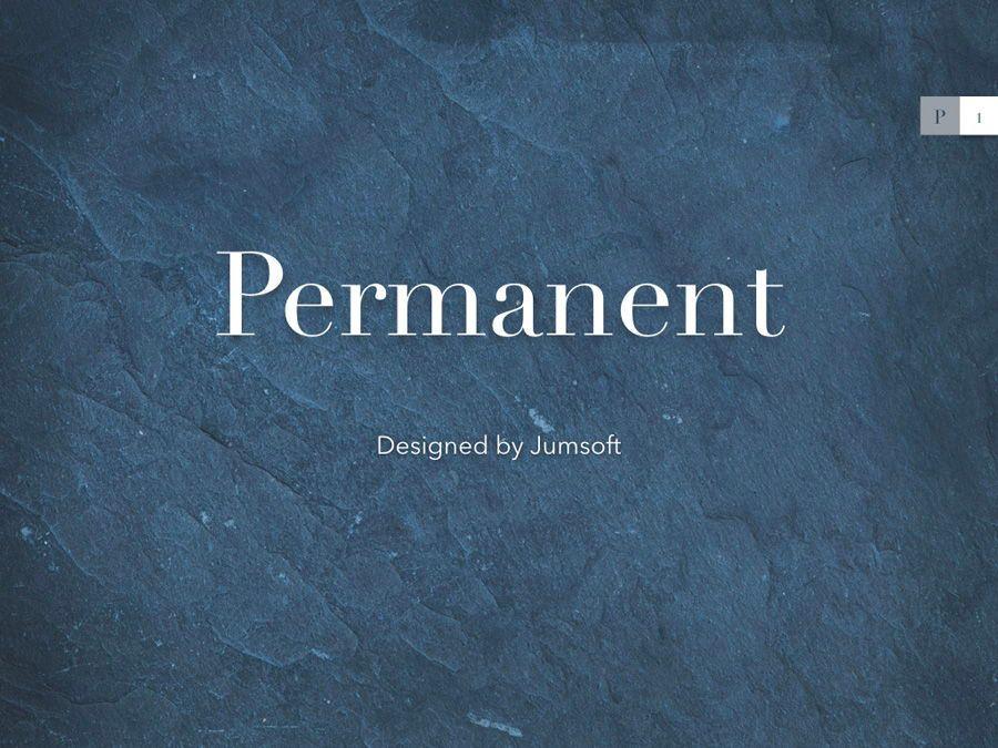 Permanent Keynote Template, Slide 2, 05792, Presentation Templates — PoweredTemplate.com