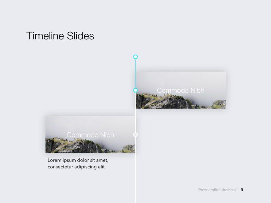Rising Sun Keynote Template, Slide 10, 05794, Presentation Templates — PoweredTemplate.com