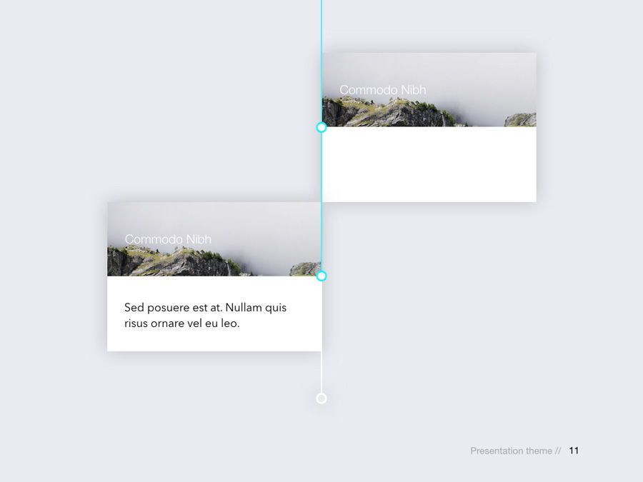 Rising Sun Keynote Template, Slide 12, 05794, Presentation Templates — PoweredTemplate.com