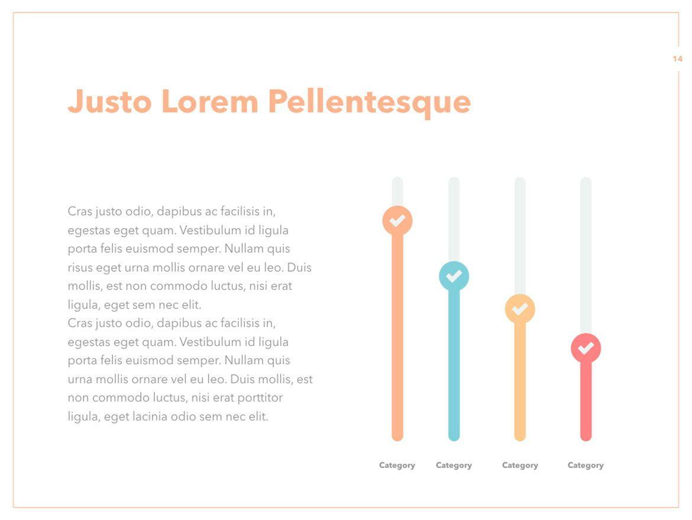 Peachy PowerPoint Template, Slide 15, 05795, Presentation Templates — PoweredTemplate.com