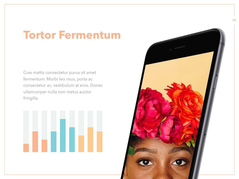 Peachy PowerPoint Template, Slide 19, 05795, Presentation Templates — PoweredTemplate.com